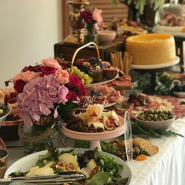 Not only did we love setting up this colourful grazing table for beautiful Evie's christening , we l