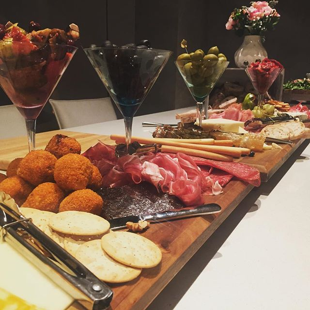 What a better way to spend your winters night for the state of origin with a grazing table from _pan