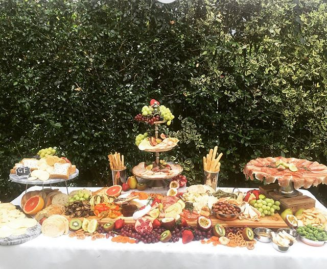 Sneak peak of our grazing table for a 40th birthday today , stay tuned for more pics #sydneycatering