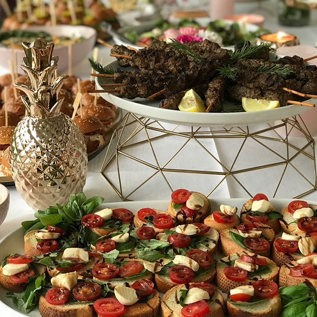 Today Pan e antipasti catered canapés an