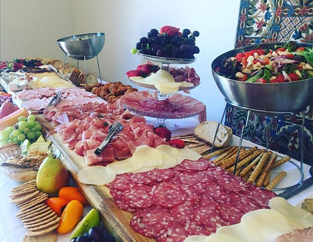 Grazing on a Sunday afternoon #birthday #sydneycatering #grazingtable #antipasto #antipastotable