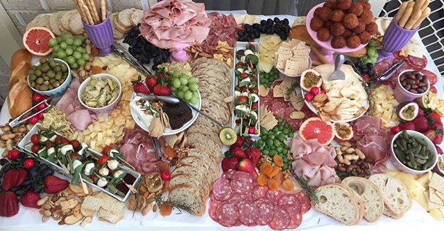 Thank you to Stephanie from _sweeteventsstylingandhire for having pan e antipasti creative this amaz