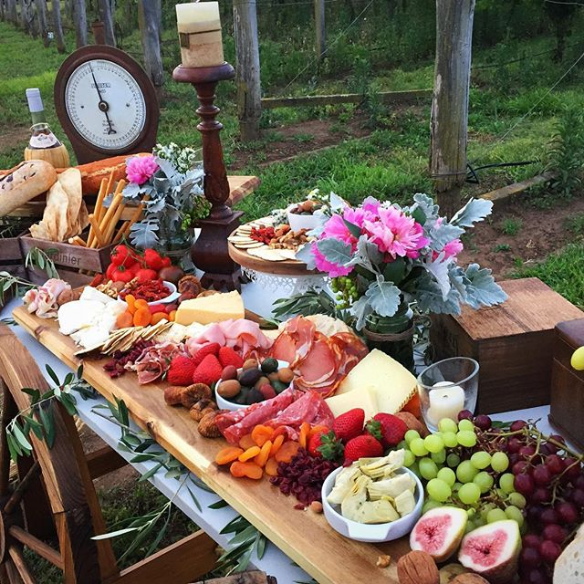 Created this grazing table for my first photo shoot thanks to _sweetheavenlyeventshire for the trest