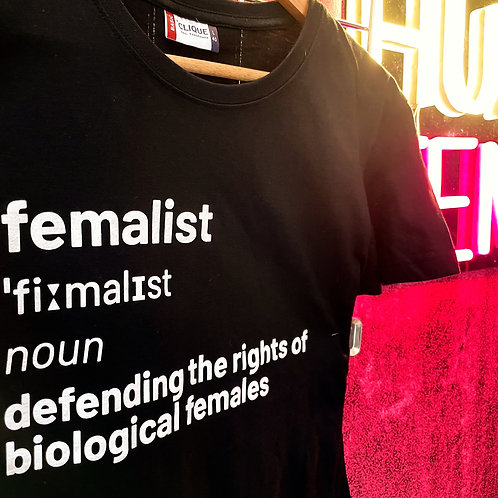 Femalist t shirt