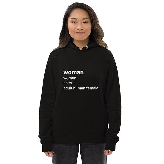 Woman definition hoodie