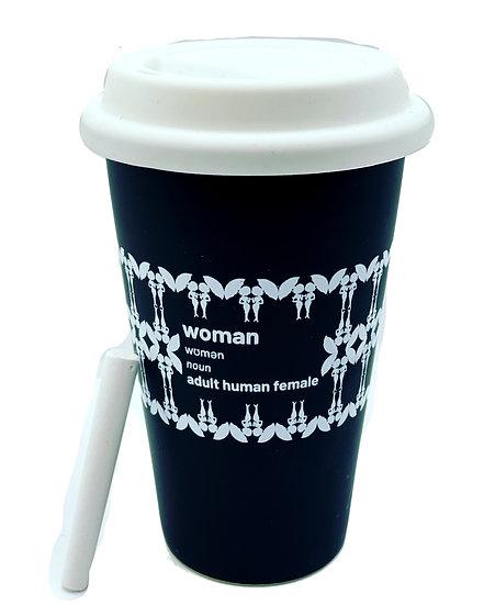 Ceramic take away cup