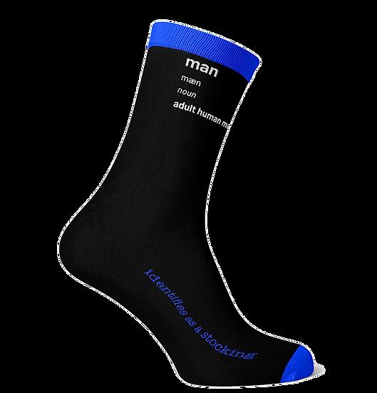 man definition socks