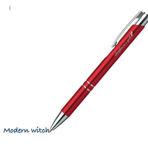 Not a pen, pen.