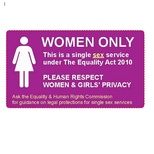 Women Only Stickers