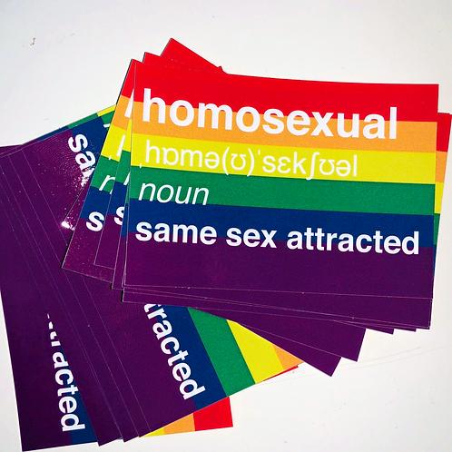Perfect for Pride Sticker