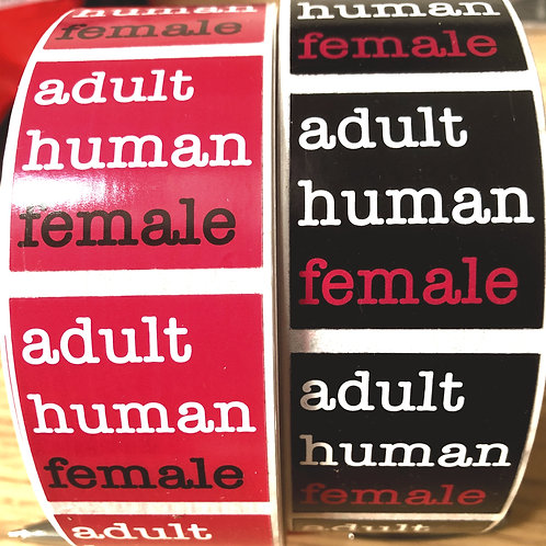 AHF Sticker (pink and black)