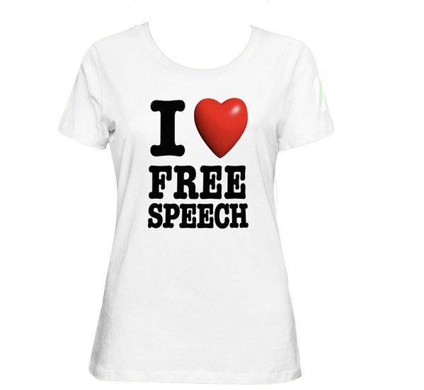 I love free speech