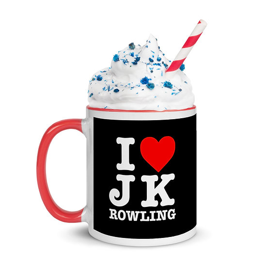 I heart J K Rowling mug