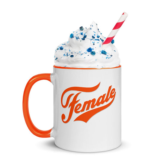 Female mug - orange