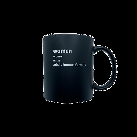 woman definition mug
