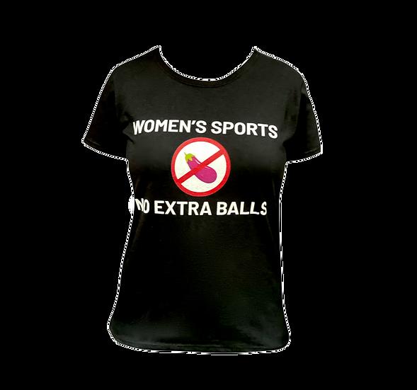 No extra balls t-shirt