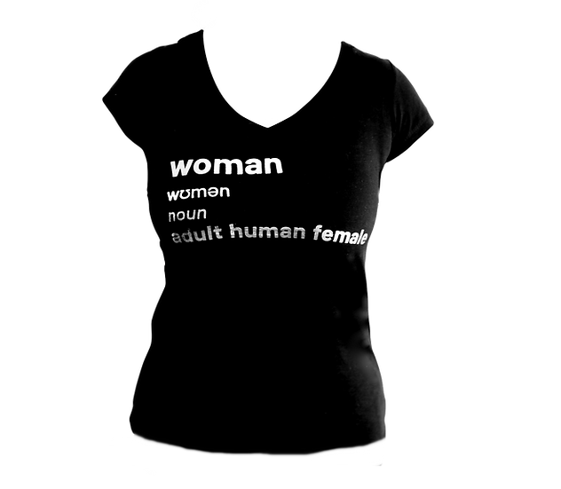 woman definition t shirt (v neck)