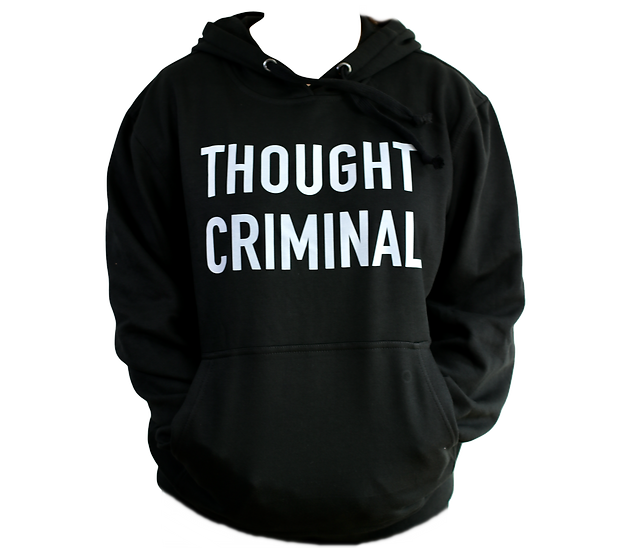 thought criminal hoodie