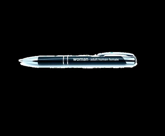 woman definition pen