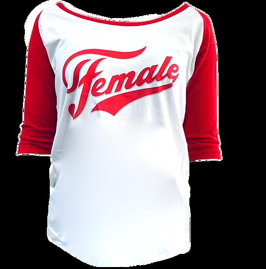 3/4 length sleeve female top