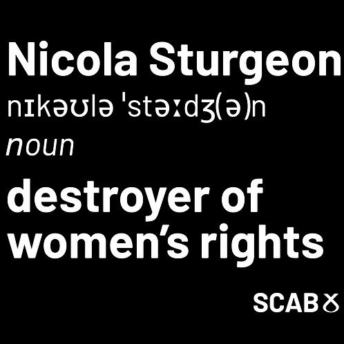 Nicola Sturgeon special tee