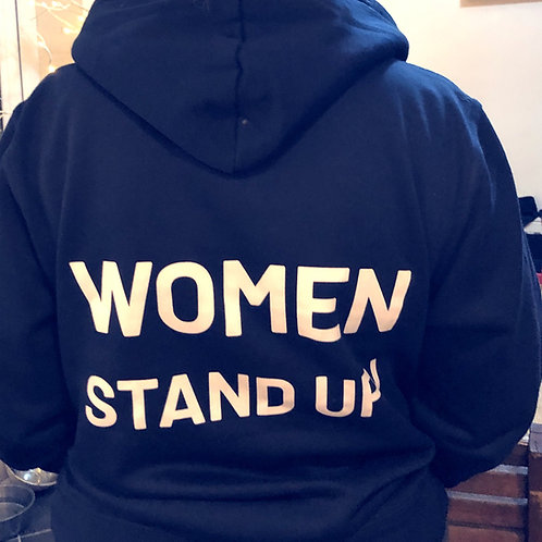 Women stand Up! definition Hoodie