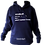 Thumbnail: The Maya (hoodie with silver foil)