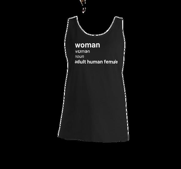 Unisex Tank Top - woman definition