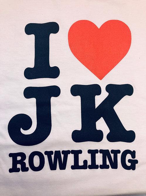 I love J K t-shirt