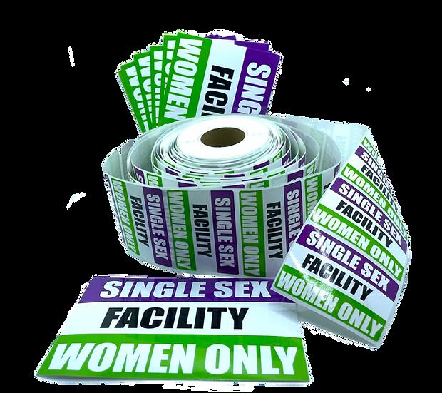 single sex sticker pack