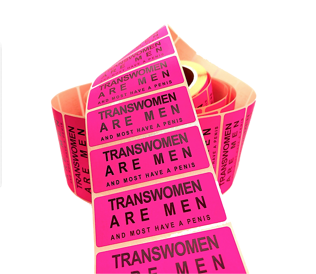 transwomen are men stickers