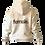Thumbnail: female organic hoodie (natural)
