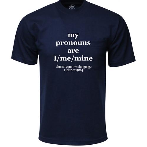 Pronoun t-shirt