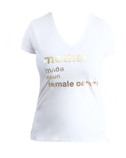 gold mother definition t shirt