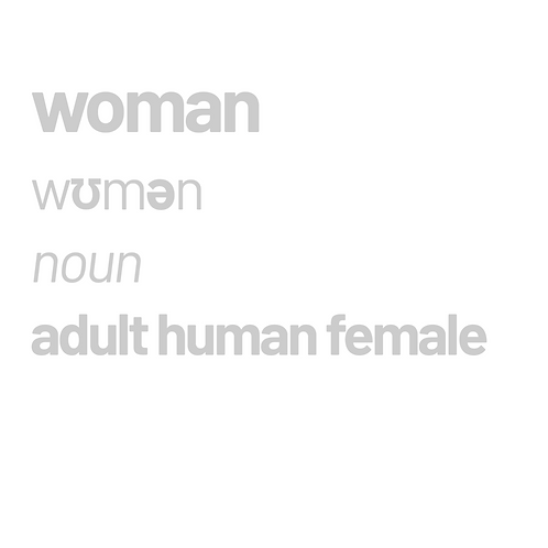 Woman definition - in white V neck