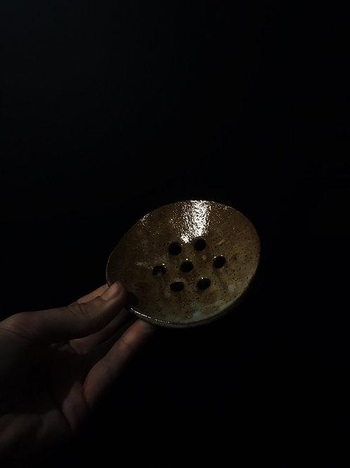 Ceramic New Zealand made soap dish