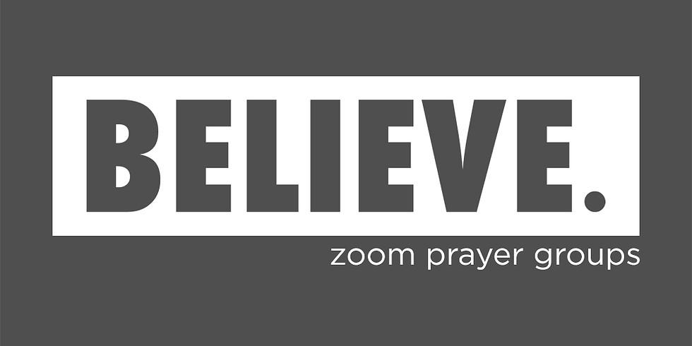 Believe Zoom Prayer Groups