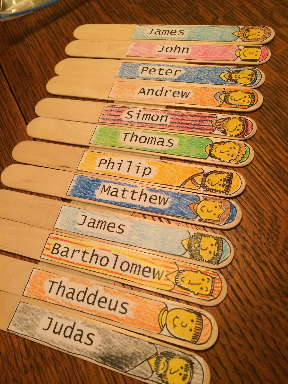 Jesus 12 Disciples