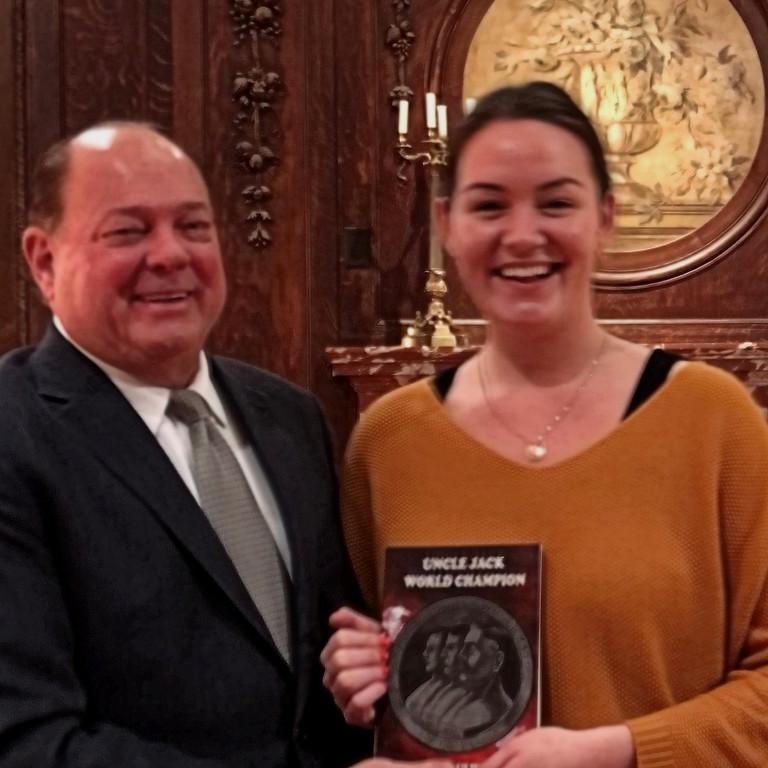 Biography presentation to the American Irish Historical Society