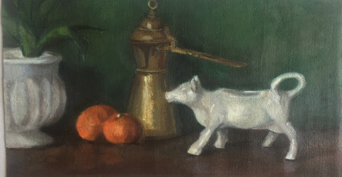 Coffe, Cow, and Clementines