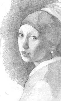 Copy after Vermeer