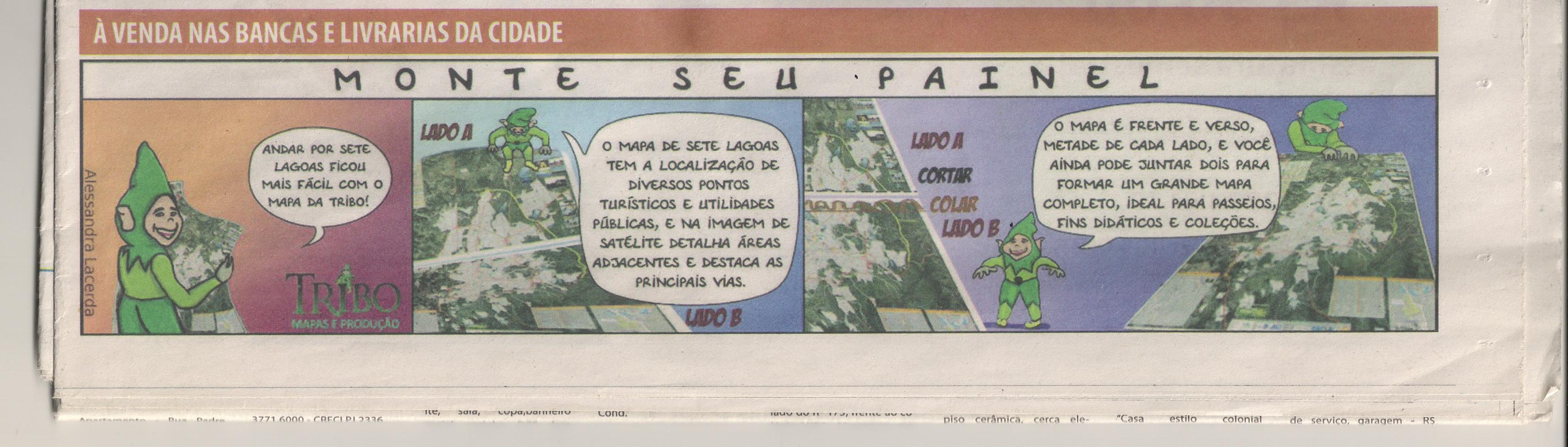 Tira Alessandra Jornal Sete Dias