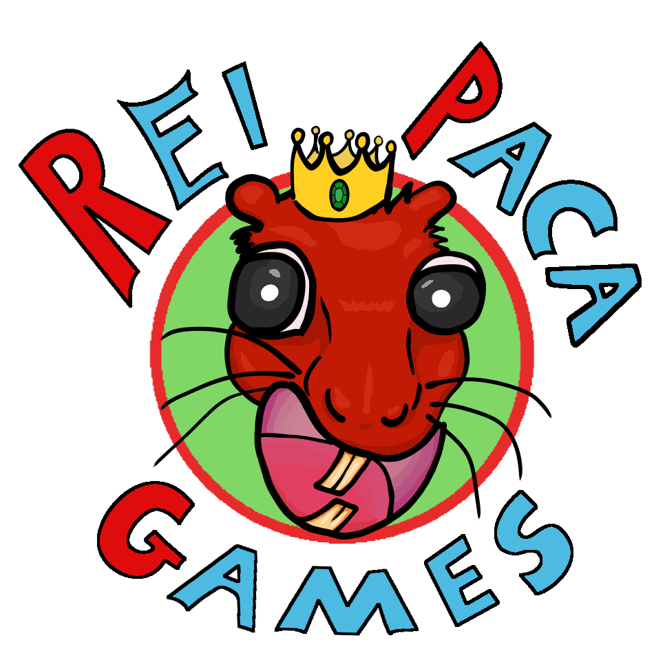 Logo Rei Paca Games
