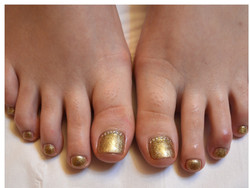 pedicure_gold
