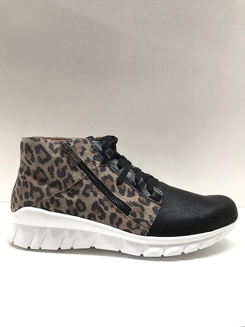 Naot Polaris in black cheetah