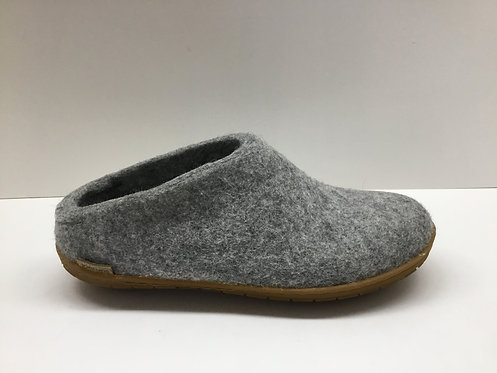 Glerups Open Heel in grey