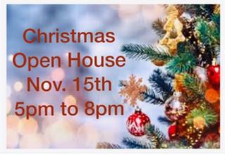 Christmas Open House...