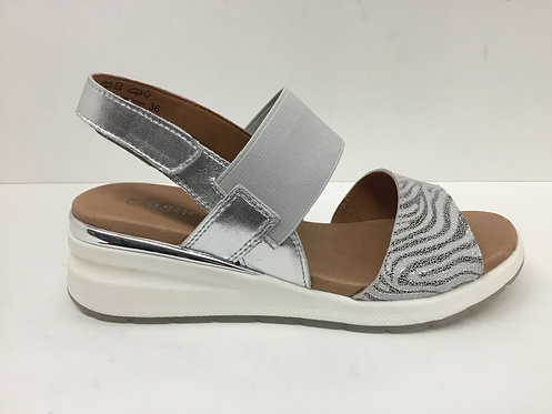Caprice 9-28306 in silver combo