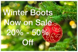 Our Winter Boot Sale is now on...