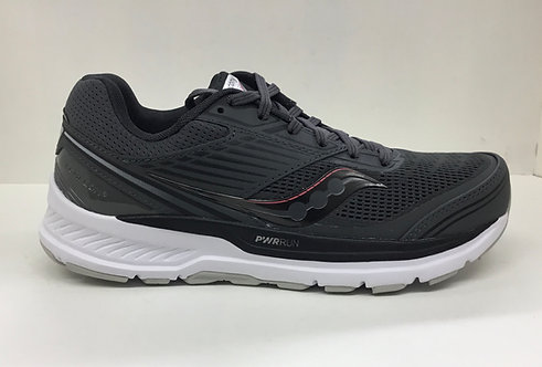 Saucony Ride 13  in charcoal-black